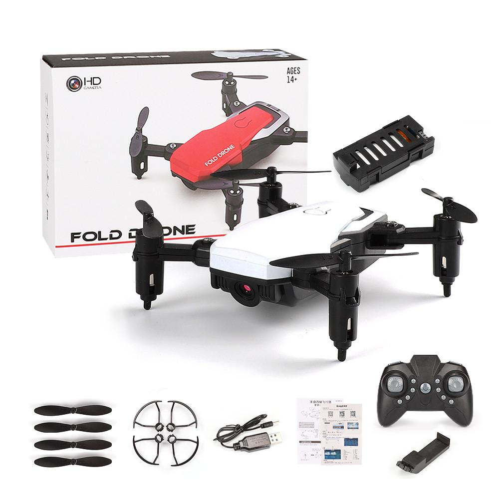 DishyKooker LF606 Mini Drone with Camera Altitude Hold RC Drones with Camera HD Wifi FPV Quadcopter Dron RC Helicopter