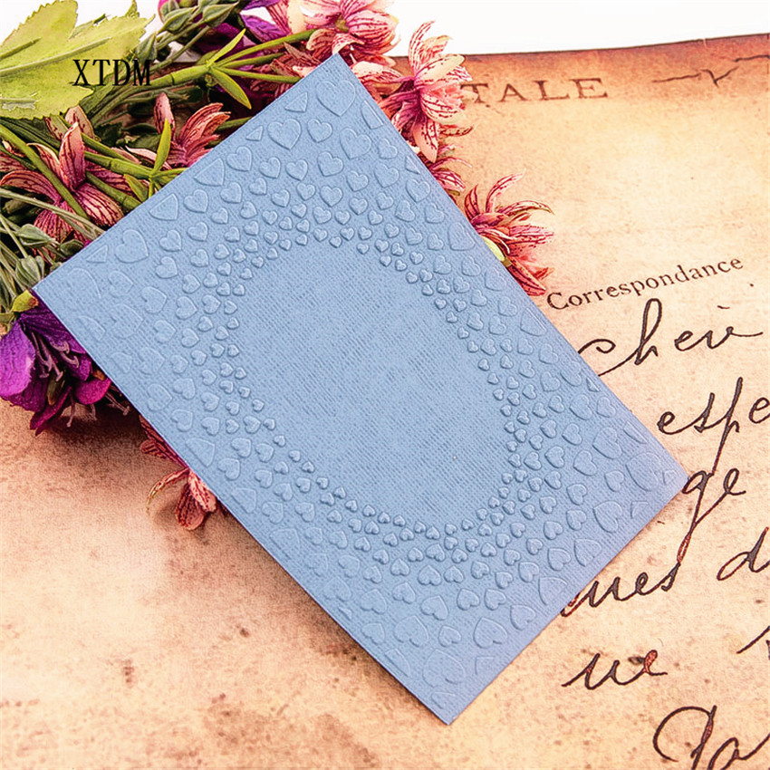 HOT Plastic Clock Template Love Photo Frame Craft Card Making Paper Card Album Wedding Decoration Clip Embossing Folders