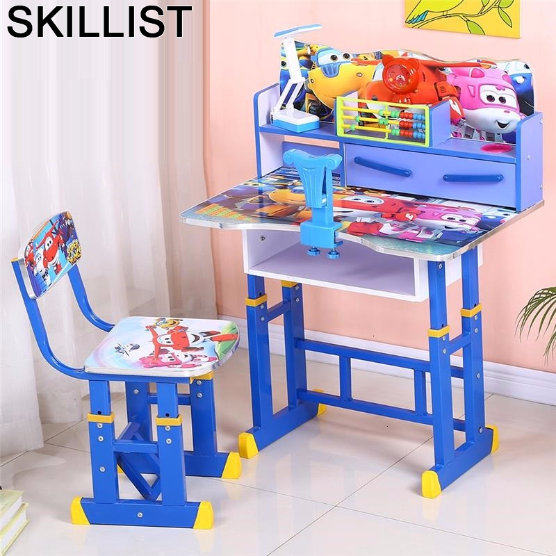Toddler Play Baby Mesa Y Silla Tavolo Per Tavolino Bambini Escritorio Infantil Adjustable Enfant Kinder For Study Kids Table