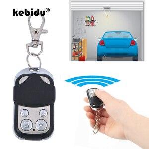 Image 1 - Kebidu 433Mhz Drahtlose Fernbedienung Empfänger Modul und RF Sender Elektrische Klonen Tor Garage Tür Auto Keychain