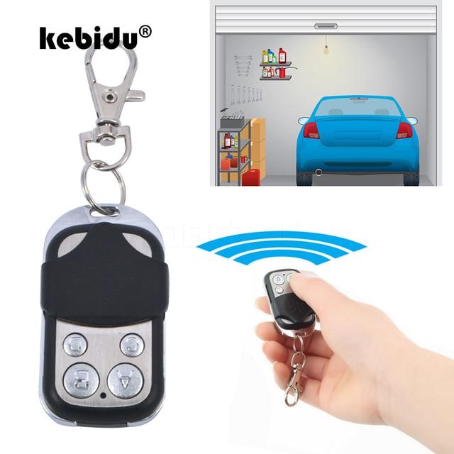 Kebidu 433Mhz Drahtlose Fernbedienung Empfänger Modul und RF Sender Elektrische Klonen Tor Garage Tür Auto Keychain