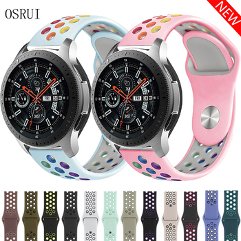 22mm 20mm for Samsung Gear S3 S2 Galaxy Huawei GT 2 Strap Watch Frontier Classic Sport Active 42mm 46 Band Huami Amazfit Gtr Bip 22mm 20mm nylon strap for samsung galaxy watch 46mm 42mm active 2 gear s3 classic band for huami amazfit bip huawei gt 2 bands