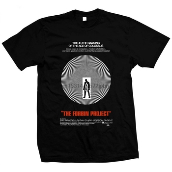 Colossus The Forbin Project (1970) Hand screened pre shrunk 100% cotton t shirt image