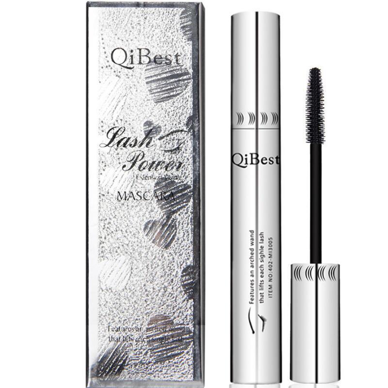 Qibest/ Qiyueshi Q2504 Aluminum Tube Mascara With Long, Dense And Waterproof Black Mascara