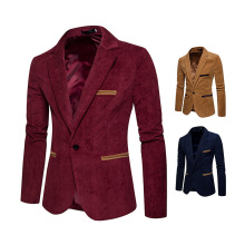 Color Casual Jacket Mens Suits Blazers Blazer Men Leisure Red Fashion Party