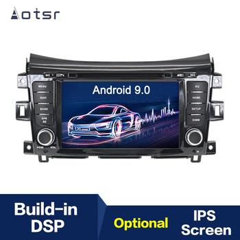 Android 9.0 IPS GPS Navigation Car Radio Player For NISSAN NP300 Navara Terra 2014+ Multimedia Player Head Unit Tape Recorder image