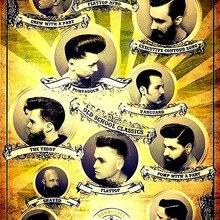 peinado hombres RETRO VINTAGE