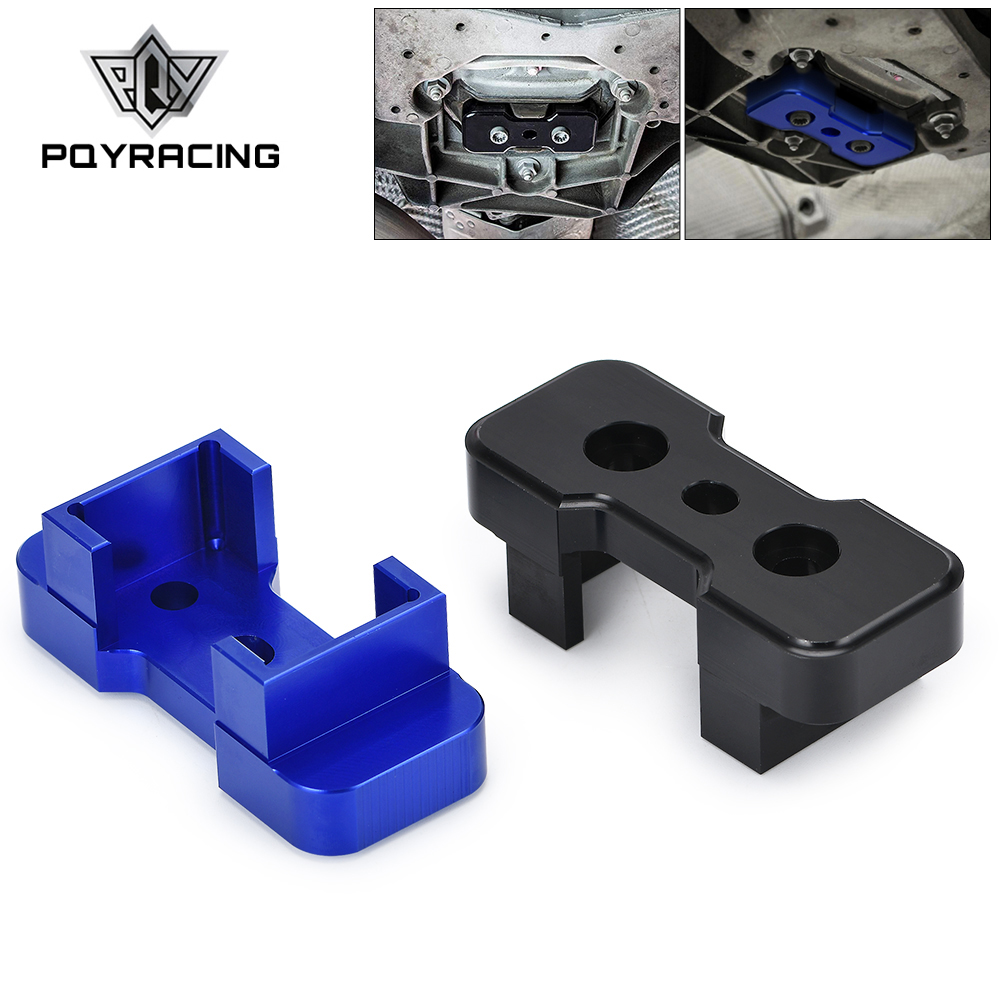 PQY Transmission Mount For S-Tronic/Manual FOR B8 Chassis Audi Models Insert Billet Aluminum PQY-TMI01