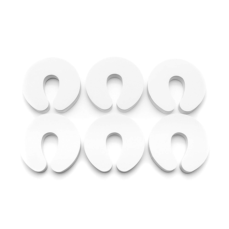 Door Pinch Guards 12 Pack Baby Proof Doors Extra Soft Sleek Design Child Safety Baby Safety Finger Protectors