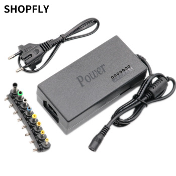 Universal Laptop Adapter 96W LED Charger Adjustable Power Supply Set 8 Detachable Plugs For Notebooks Dell HP Toshiba Acer Asus