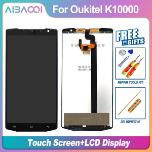 AiBaoQi For Oukitel K10000 1280X720 LCD Display+Touch Screen Digitizer Assembly lcds 5.5