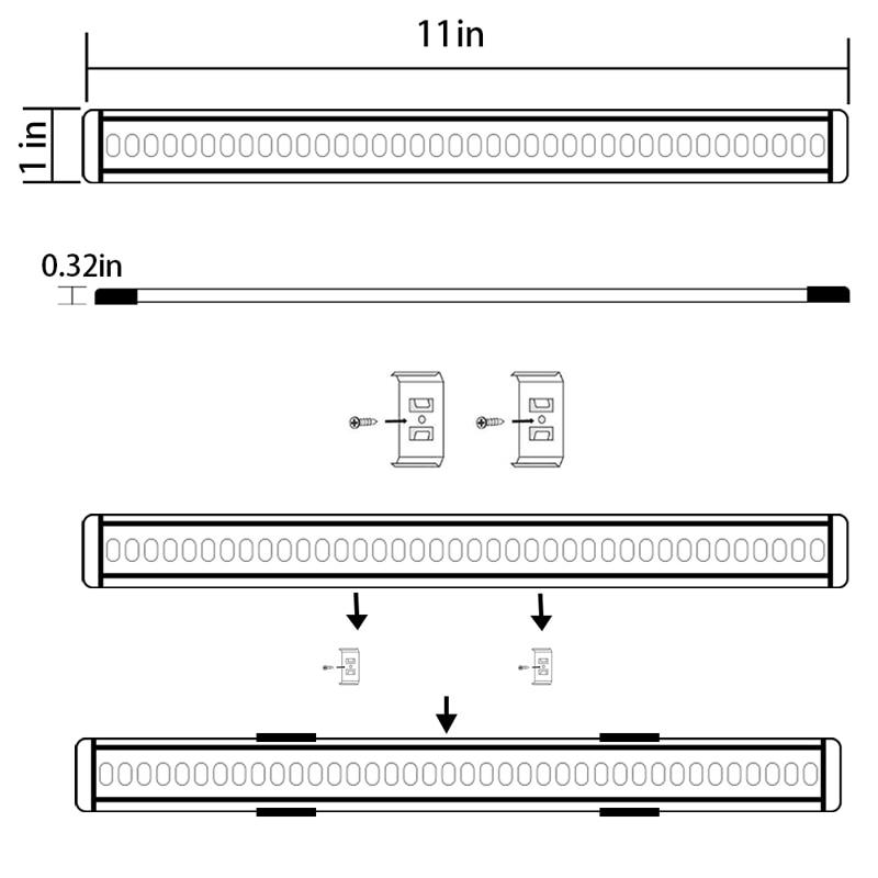 under cabinet led light bar 06