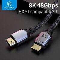 Cavo 2.1 compatibile hdmi-hdmi-h8 8K/60Hz 4K/120Hz 48Gbps cavi digitali ad alta velocità 144Hz per hdtv Switch PS4 proiettori XBox