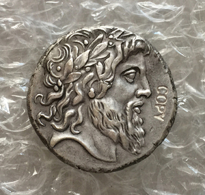 Тип: #42 греческие копии монет неправильный размер