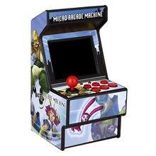 16 битная игровая консоль для родителей и детей, 156 игр, портативный джойстик с цветным экраном, модная мини консоль с принтом в стиле ретро, HD