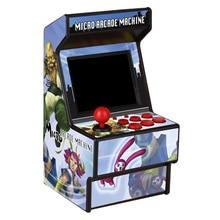 16 Bit Parent child Player 156 Games Toy Handheld Color Screen Joystick Fashion Printed Mini Retro HD Game Console Development