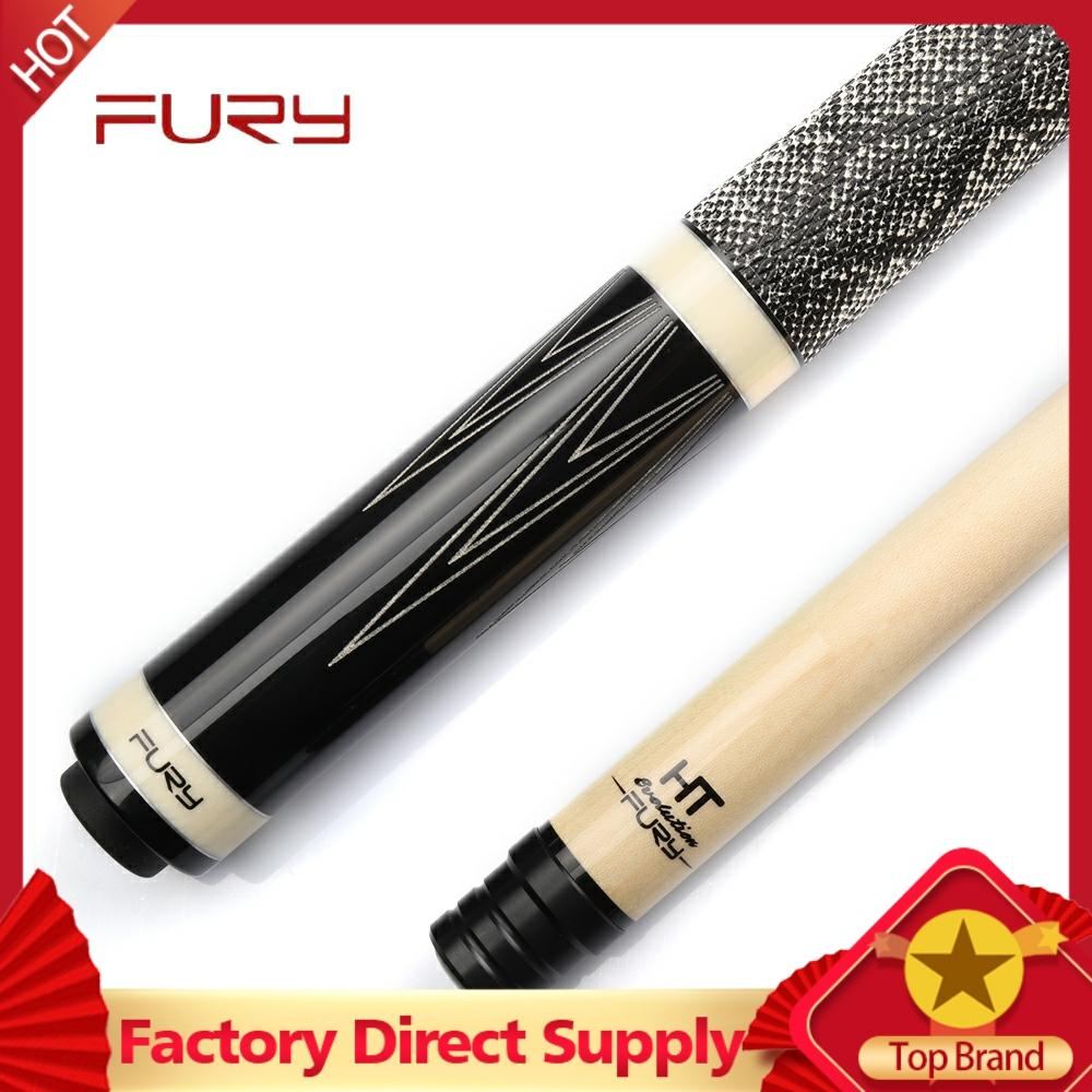 FURY LA Billiard Pool Cue Snakeskin American Black 8 Ball 16 Color Billiard Bar Laser Butt Billar Stick Kit With Case China 2019
