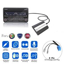 DOXINGYE Adaptador USB AUX Adaptador Bluetooth Car Digital Music Cd Changer Carro MP3 Player Para Fiat Alfa Romeo Lancia 8PIN interface