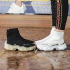 Women Chunky Sneaker...