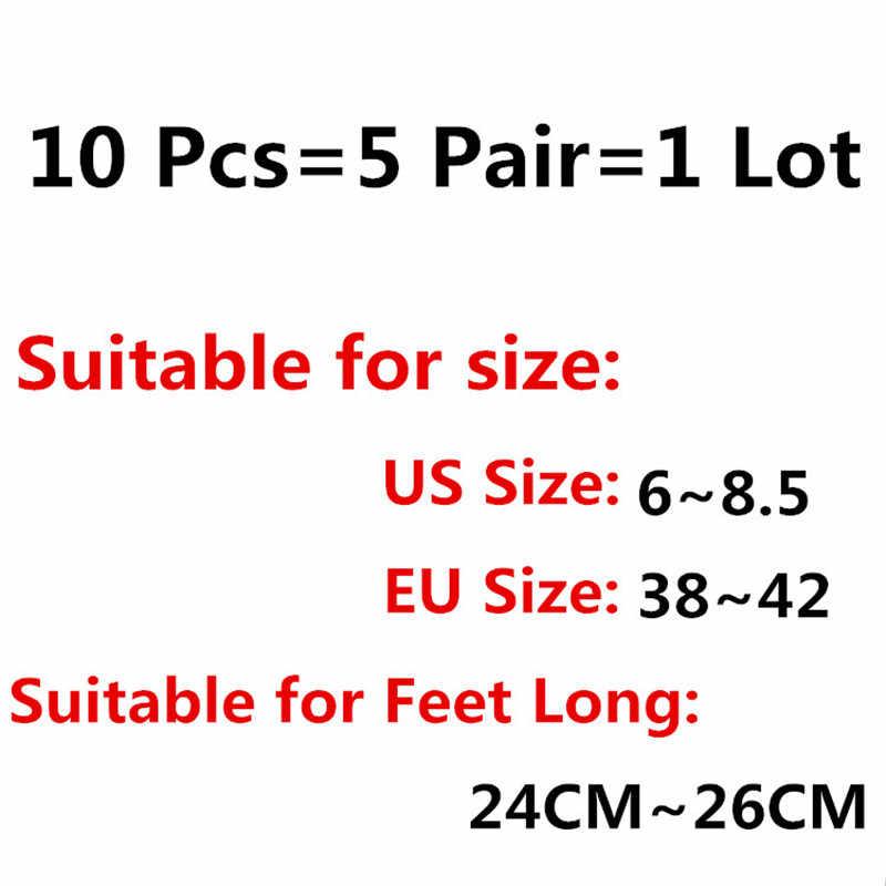 5 أزواج جوارب رياضية الرجال عدم الانزلاق سيليكون تشغيل الجوارب عالية الجودة الخيزران غير مرئية لا تظهر قارب الجوارب لينة الاتحاد الأوروبي الحجم: 38-42