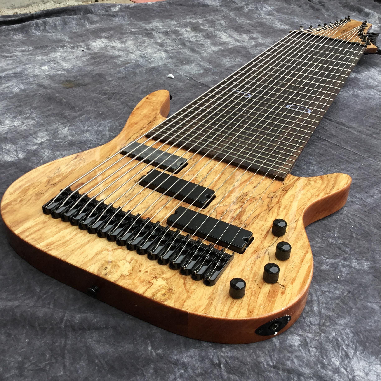 2020 Заводская 17 строка электрическая бас-гитара, гриф из красного дерева, Fretless декор, изготовленный на заказ предложение 3