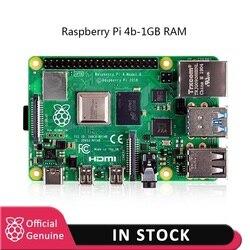 Raspberry pi 4 modelo kit-1GB RAM BCM2711 Quad core Cortex-A72 ARM v8 1,5 GHz con cargador de energía tipo c UE/EE. UU. + disipador de calor Pi 4