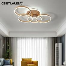 CBETLALISA .Led ceiling chandelier gold latest design light for living room bedroom kitchen chandelier top quality led chandelier