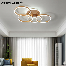 CBETLALISA .Led ceiling chandelier gold latest design light for living room bedroom kitchen top quality led