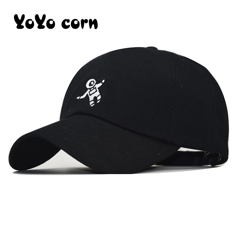 Newest Spaceman Embroidery Baseball Cap Available Unisex Fashion dad Hats Adjustable Cotton Hats Casual caps