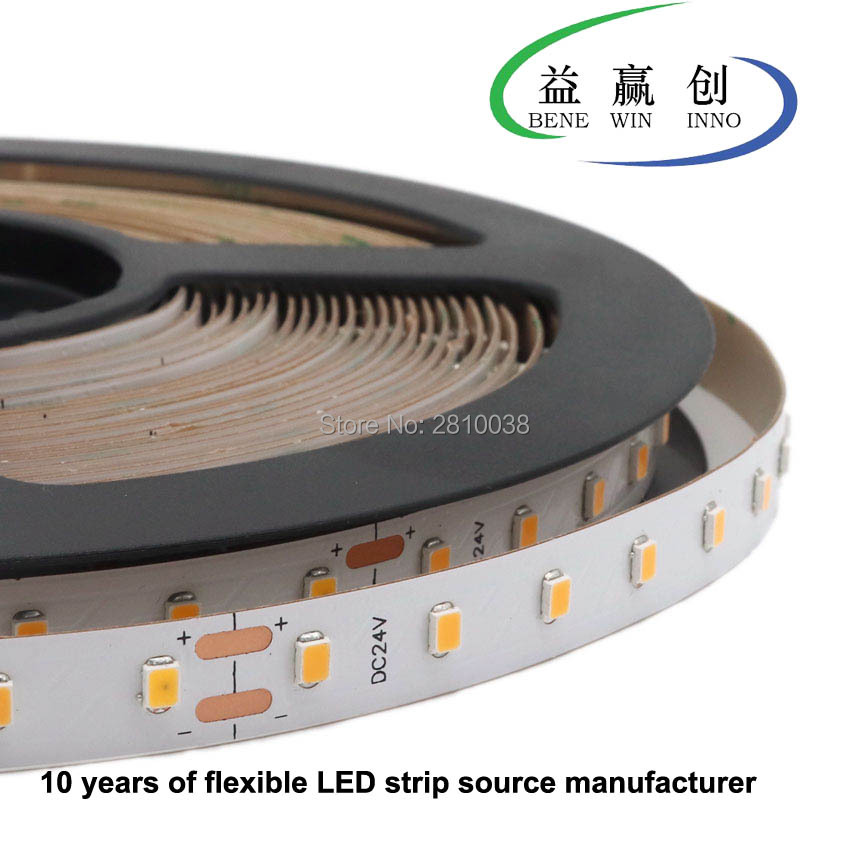 120M/Lot IP22 DC24V constant current Built in-IC flexible <font><b>led</b></font> strip SMD2835 CRI95 80leds/M <font><b>led</b></font> light strip 10mm PCB <font><b>led</b></font> <font><b>stripe</b></font> image
