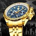 Tevise Роскошные Брендовые мужские часы автоматические механические часы для мужчин водонепроницаемые мужские наручные часы с автоподзаводо...