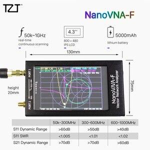 Analisador 50 k-1.5 ghz da antena de vna do analisador da rede do vetor de tzt nanovna-f com 4.3