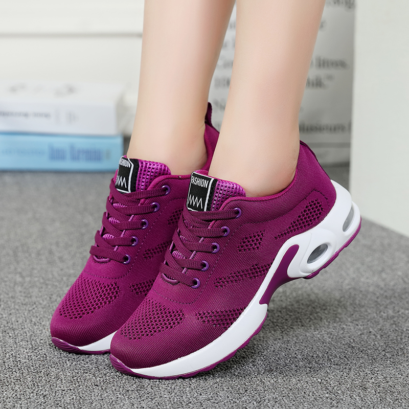 Hc3a289cf03a24abd9c7c6ee500b654ccc - autumn Sport Shoes Woman Sneakers Female Running Shoes Breathable Hollow Lace-Up chaussure femme women fashion sneakers