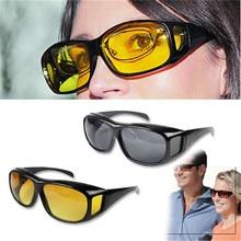 Очки для вождения автомобиля, очки для вождения, поляризованные солнцезащитные очки, очки ночного видения Goggl Polar HD, модные мужские и женские очки с желтыми линзами