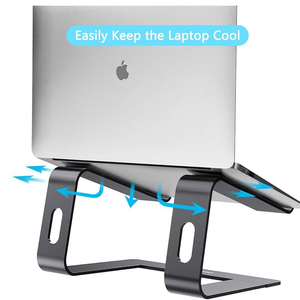 Image 3 - Jelly Comb Laptop Stand Aluminum Holder for Laptop Notebook PC Computer Ergonomic Bracket Metal Cooling Stand Heat Dissipation