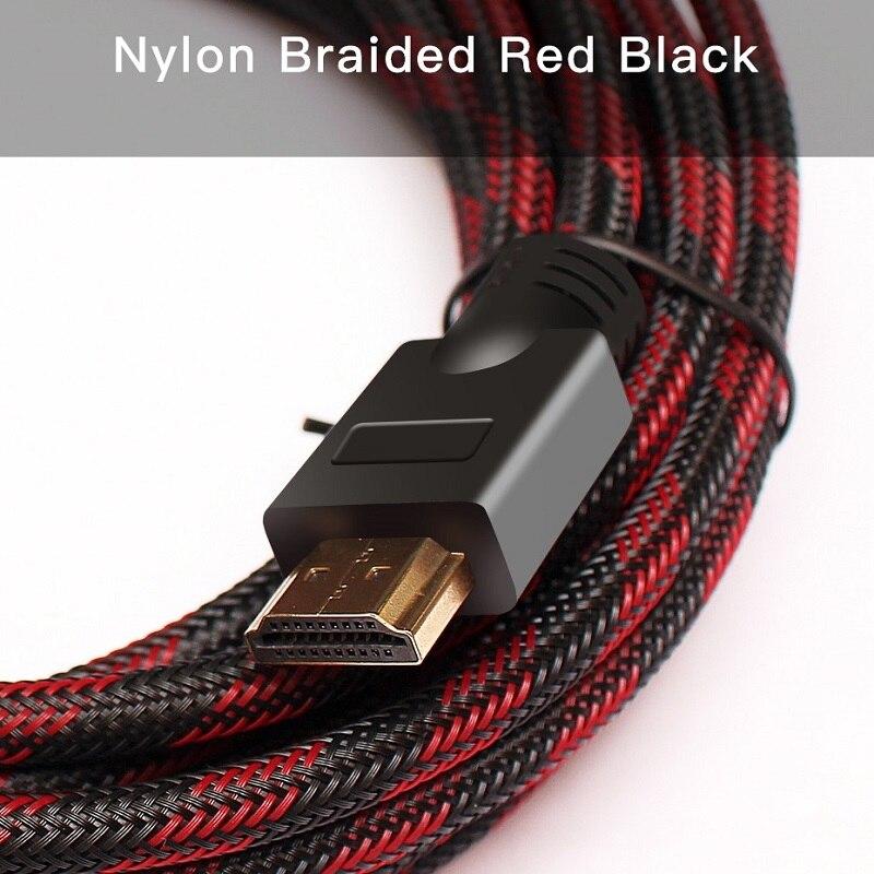 Lungfish HDMI кабель 2,0 4 к/60 Гц позолоченный штекер HDMI к HDMI 1 м 2 м 3 м 5 м 10 м 15 м 20 м для ноутбук с HDTV PS3/4 компьютерный кабель hdmi