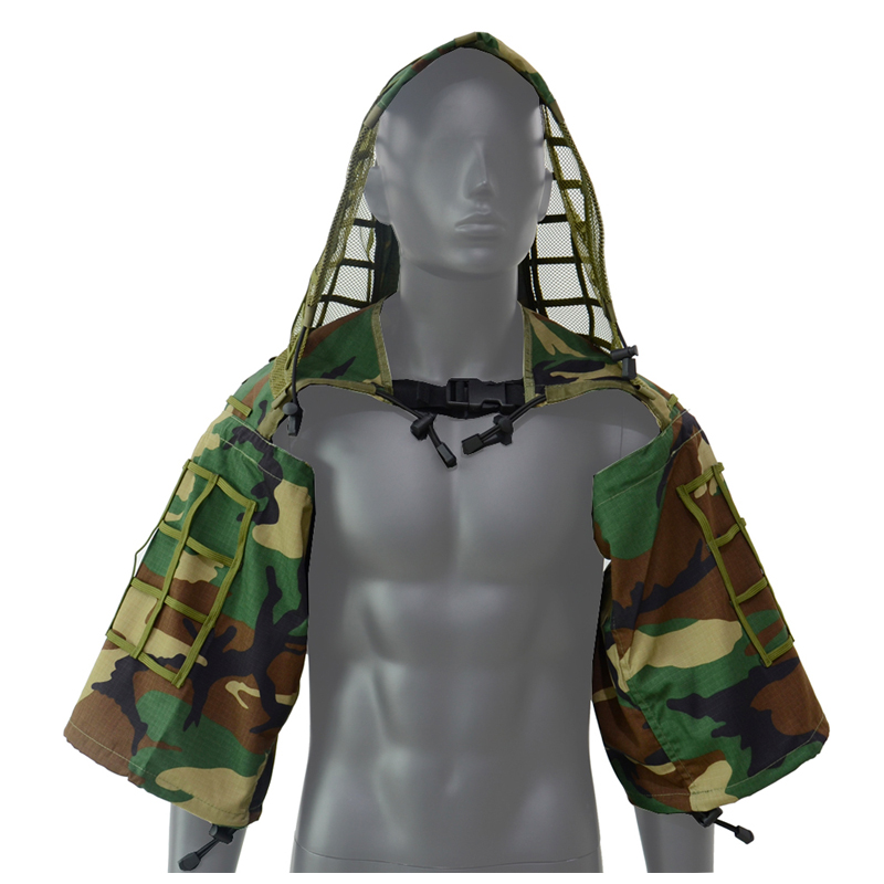 2020 New Military Sniper Ghillie Woodland  Airsoft  Ghillie Viper Hood Combat Foundation Camouflage Assaulter WL Ghillie Suit