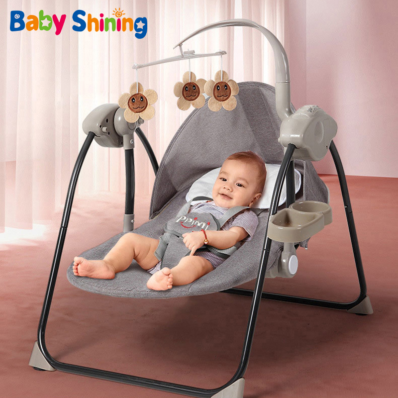 Coax Baby Artifact Baby Electric Rocking Chair Newborn Baby Sleep Cradle Bed with Baby Sleeping Comfort Chair Recliner for 0-2Y
