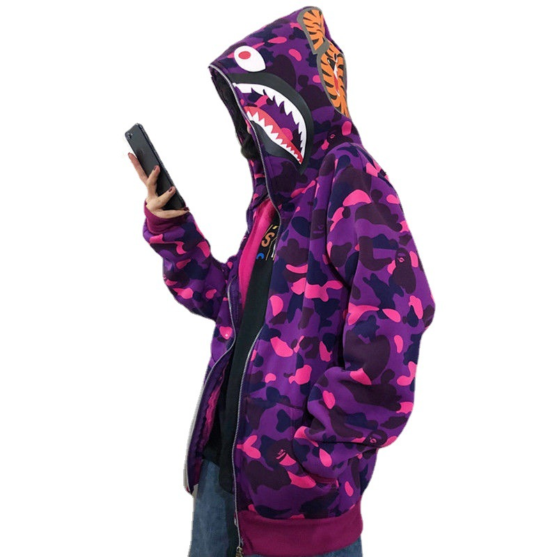 Winter Plus fleece Camouflage Classic Sweater Thin Zipper Hoodie Couple Sweater Zip Hoodie Women Jacket Coat 2021 New Jackets  - AliExpress