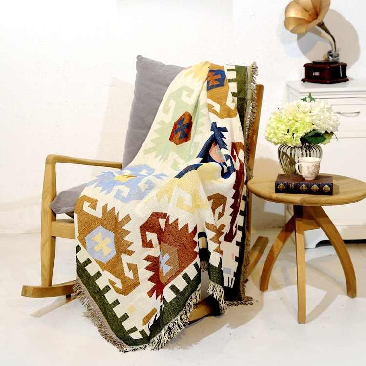 Light Color Geometry Sofa Dian Jin
