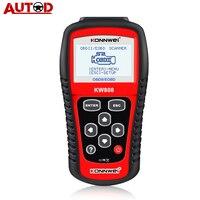 KONNWEI-herramienta de diagnóstico automotriz KW808, autoescáner OBD 2, lector de código de motor, compatible con CAN J1850
