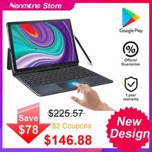 2021 aggiornato Android 10.5 pollici 2 IN 1 Tablet PC Deca Core 1920*1200 schermo 13.0MP Dual 4G Tablet telefono con tastiera GPS Gaming
