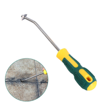 Tungsten Steel Tile Grout Cleaner Caulking Removal Tile Joints Grout Cleaner Cleaning Brush Household Cleaning Tools