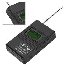 Accurate RK560 50MHz 2.4GHz Frequency Counter Meter Portable Handheld Radio Frequency Testing Frequency Counter LCD Display