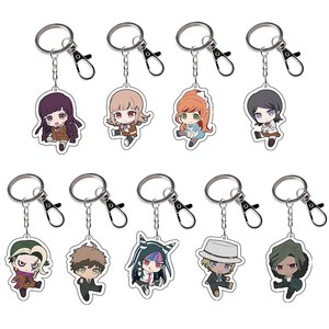 2020 New Danganronpa Acrylic Keychain Keyring Cosplay Anime Gifts(China)