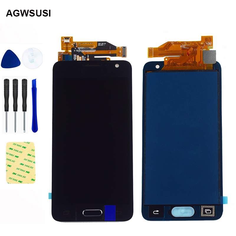 4.5 inch For <font><b>Samsung</b></font> Galaxy A3 2015 <font><b>A300</b></font> A3000 A300F A300M <font><b>LCD</b></font> Display Screen + Touch Screen Assembly free shipping Replacement image