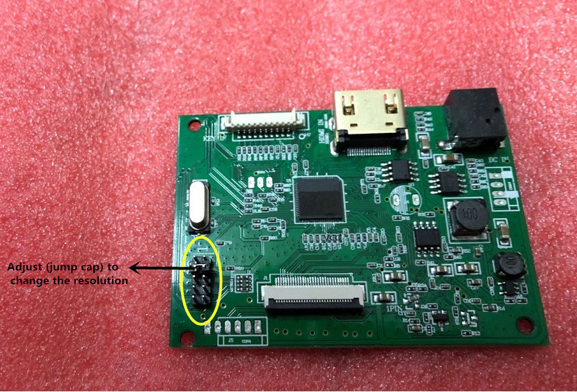 30PIN LCD Driver Board PCB-800807V1-HDMI-EDP For Screen Resolution 1920 * 1200 1920 * 1080 1600 * 900 1366 * 768 1280 * 800 30 P