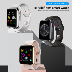 Image 2 - New KY001 Smart Watch Women big screen men Sport Fitness Bluetooth Smartwatch Phone Music player SIM TF Card for iOS Android