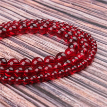 Hot Sale Natural Stone Crimson Glass 15.5 PicBlue Peacockk Size 4/6/8/10/12mm fit Diy Charms Beads Jewelry Making Accessories