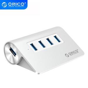 ORICO USB 3.0 HUB nouveau Mac Design Mini haute qualité haute vitesse en aluminium 4 ports USB HUB séparateur avec câble de données (M3H4)